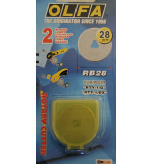 Olfa Rotary Cutter Replacement Blade 28mm