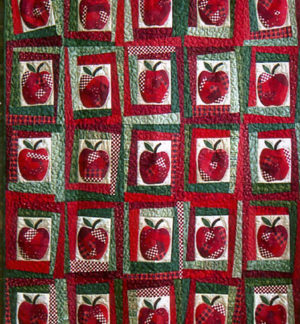 Crazy Apples Quilt Pattern
