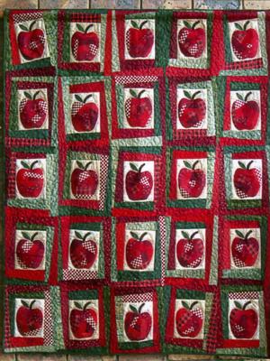 Crazy Apples Quilt Pattern