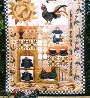Eggs For Breakfast Quilt Pattern