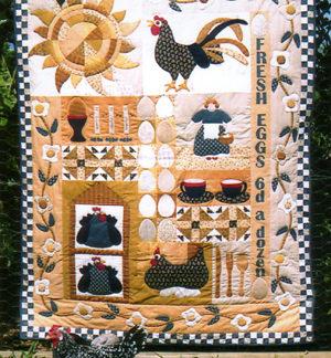 Eggs For Breakfast Quilt Pattern