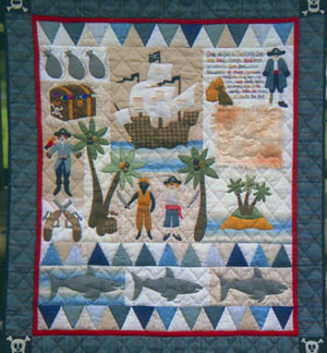 Pirate Treasure Quilt Pattern