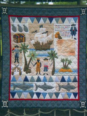 Pirate Treasure Quilt Pattern