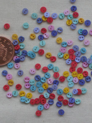 Flirt Mini Rounds Micro button pack