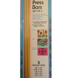 Quilter's Press Bars - Set of 5