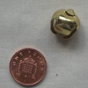 15mm Gold Jingle Bell