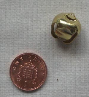 15mm Gold Jingle Bell