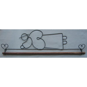 Flying Angel 16 inch Hanger & Dowel