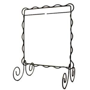 Quilt Stand 6 x 6 inch - Cream