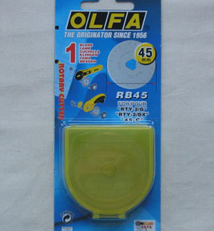 Olfa Rotary Cutter Replacement Blade 45mm