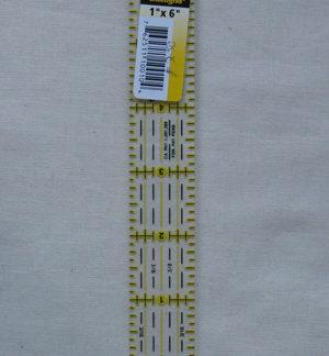 Omnigrid Ruler 1 x 6 inch