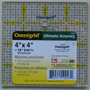 Omnigrid Square 4 x 4 inch