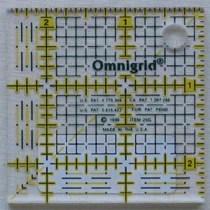 Omnigrid Square 2.5 x 2.5 inch