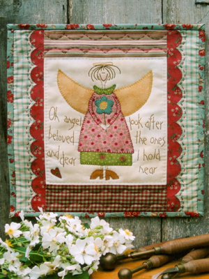 Beloved Angel Wall Hanging Pattern