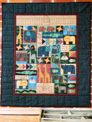Harry's Zoo Quilt Pattern
