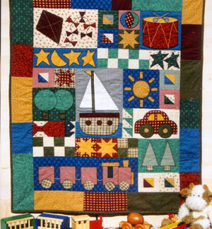 Toys for Boys Quilt Pattern