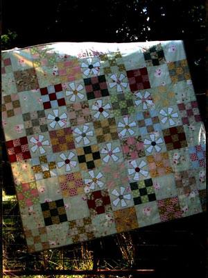 Mill Flower Quilt Pattern