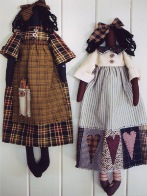 Country Cloth Doll