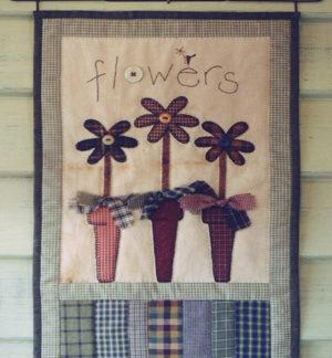 Flower Pot Quilt