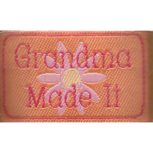 Grandma Made It - Iron-on Love Label