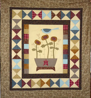 Basket of Blooms Quilt Pattern