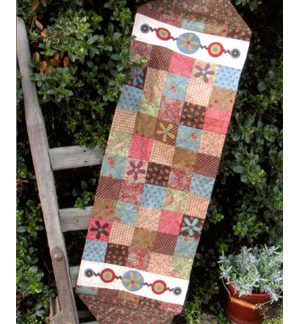 Funky Flower Table Runner