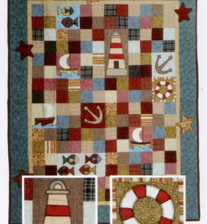 Land Ahoy Quilt Pattern
