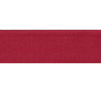 Dark Red Bunting Tape - 30mm wide