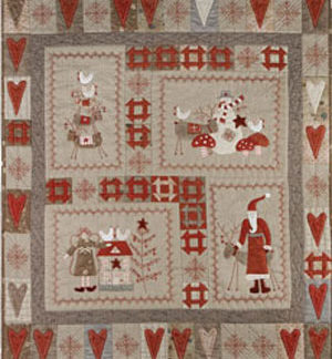Scandinavian Christmas Block of the Month Set