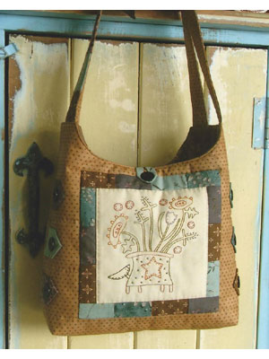 Prairie Flower Bag pattern