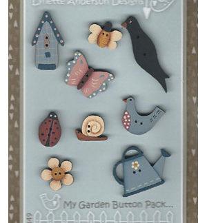 My Garden Button Pack