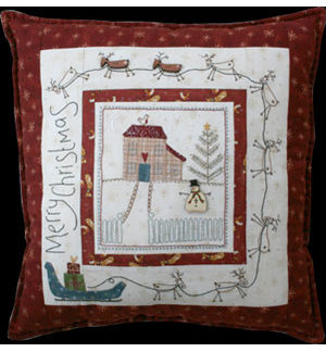 Christmas Eve Pillow Pattern