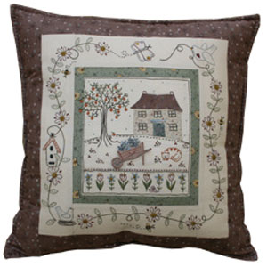 The Orange Tree Cushion Pattern