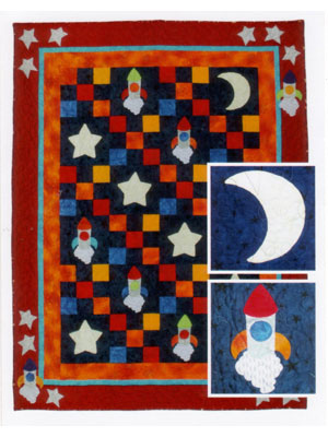 Fly Me to the Moon quilt pattern