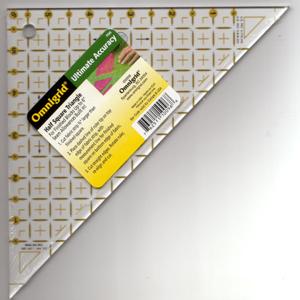 Omigrid Half Square Triangle 6 inches