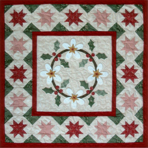 Holly Blossoms quilt pattern