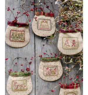 Christmas Stamp Pockets pattern