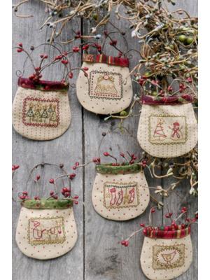 Christmas Stamp Pockets pattern