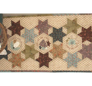 Starry Eyed Table Runner pattern