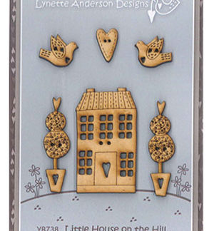 Little House on the Hill button pack
