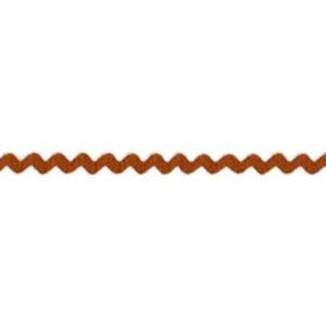 Rust - Ric Rac Mini 5mm wide