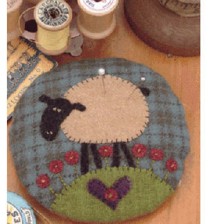Larry Lamb Pincushion pattern