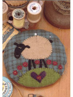 Larry Lamb Pincushion pattern