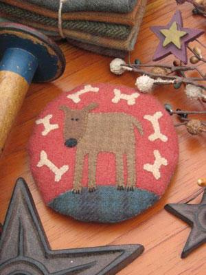 Digby Dog Pincushion pattern