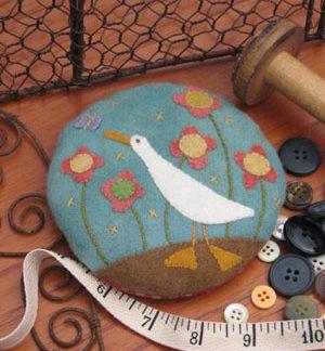 Gilroy Goose Pincushion pattern