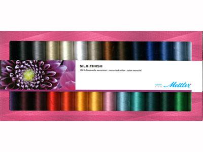 Mettler Silk Finish 100% Cotton Set of 28