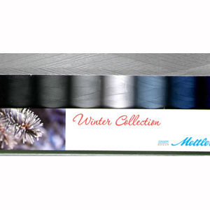 Mettler Silk Finish Winter Collection Set of 8