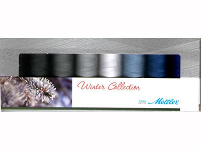 Mettler Silk Finish Winter Collection Set of 8