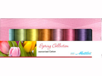 Mettler Silk Finish Spring Collection of 8