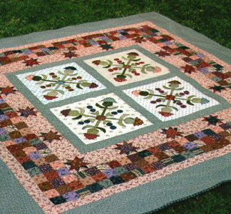 Cotton Thistle Baltimore quilt pattern